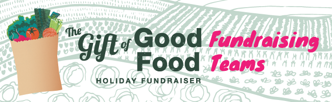 Gift of Good Food Fundraising Teams