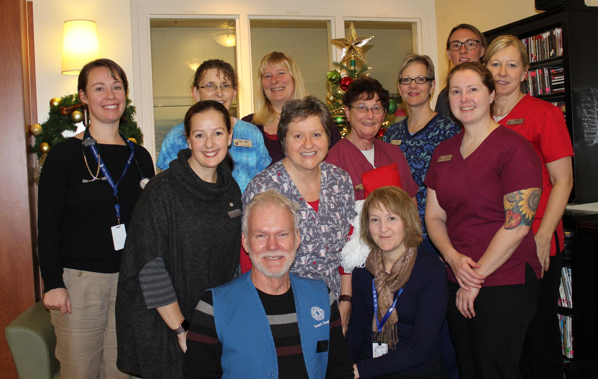 Victoria Hospice Staff and Volunteers